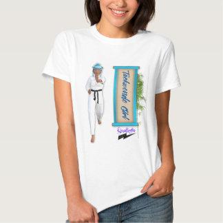 """Menina"""" T de Scolletta """"Taekwondo T-shirts"""