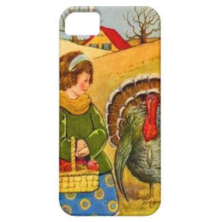 Menina & Turquia Capa Barely There Para iPhone 5