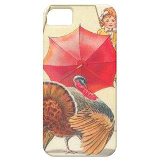 Menina & Turquia Capa Para iPhone 5