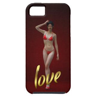 Menina Xiao Wen do amor Capas Para iPhone 5
