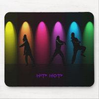 Meninas da dança de Hip Hop no palco Mousepad