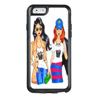 meninas da forma do caso 2 do iPhone 6/6s