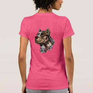 Meninas de Pitbull Tshirts