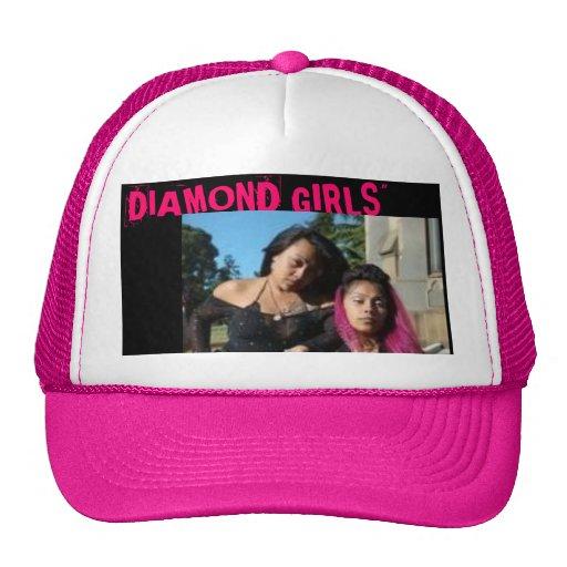 """meninas do diamante o 1, do """"MENINAS DIAMANTE """" Boné"""