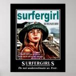 Meninas do surfista posters