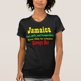 Meninas jamaicanas camiseta