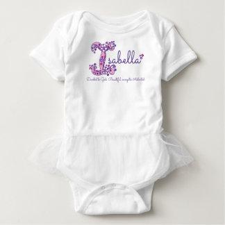 Meninas nome & significado de Isabella mim camisa Body Para Bebê