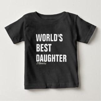 Meninas pai & mim da camisa da filha do mundo as