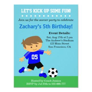 Menino bonito do futebol, festa de aniversário