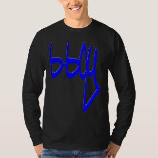 menino de b, AZUL do estilo GBK Camiseta