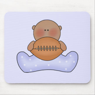 Menino de bebê do futebol de Lil étnico Mousepad