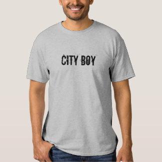 Menino de cidade tshirt