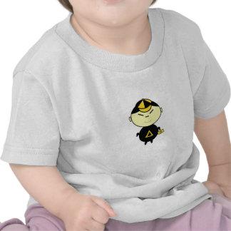 Menino de escola t-shirts