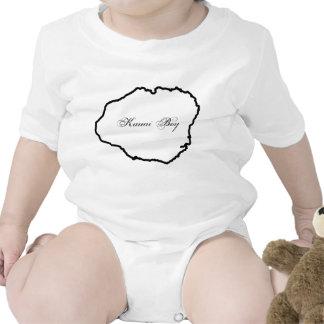 Menino de Kauai - apenas como o pai Macacãozinho Para Bebês