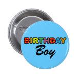 Menino do aniversário boton