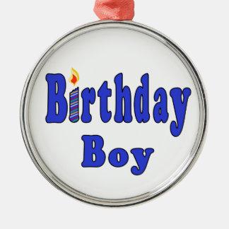 Menino do aniversário enfeites