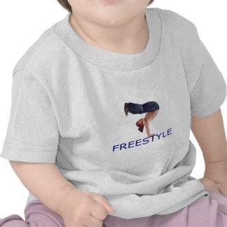 Menino do estilo livre B Tshirts