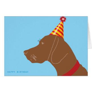 Menino do feliz aniversario! cartão comemorativo