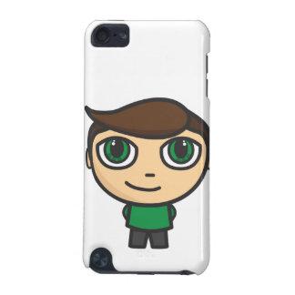 Menino do personagem de desenho animado na capa do capa para iPod touch 5G