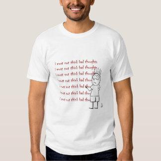 Menino do Scythe - pensamentos maus Camiseta