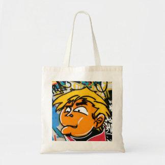 Menino dos grafites bolsa para compras