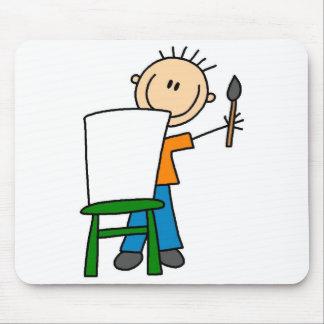 Menino que pinta Mousepad