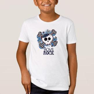 Meninos azuis da rocha do balancim de punk do camiseta