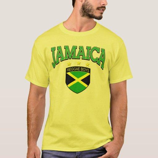 Meninos da reggae de Jamaica T-shirts