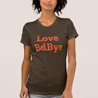 Meninos do mau do amor t-shirts