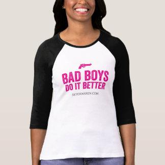 Meninos maus melhora tshirts