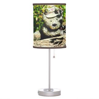 Mensageiro da lâmpada do urso do amor