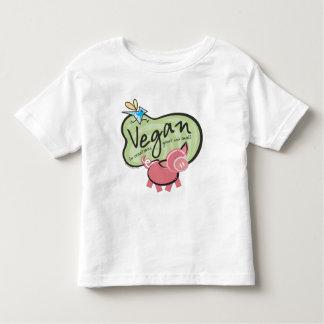 Mensagem bonito do Vegan Tshirt