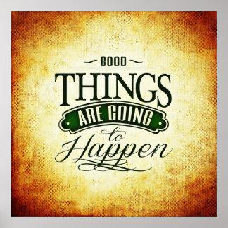 Mensagem Uplifting inspirada das citações Pôster