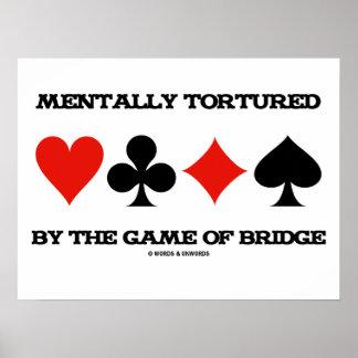 Mentalmente por The Game da ponte (humor) Poster