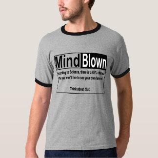 Mente = fundido, ciência, vida, morte e funerais t-shirts