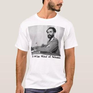Mente sábia da camisa de Selassie