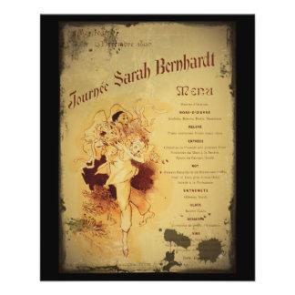 Menu de la Journee (menu) Panfleto Personalizados