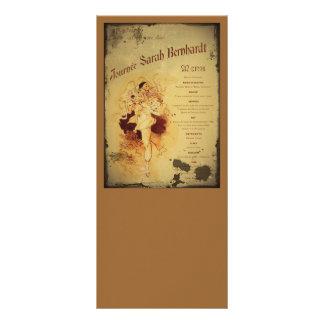 Menu de la Journee (menu) 10.16 X 22.86cm Panfleto