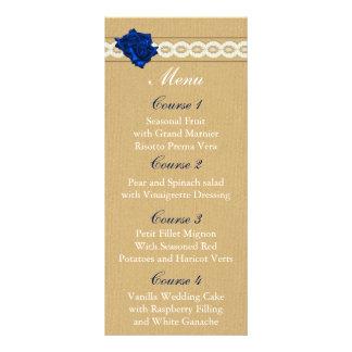 menu do casamento do frasco de pedreiro de 10.16 x 22.86cm panfleto