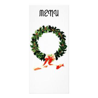 Menu do Natal