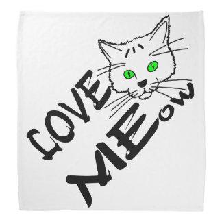MEow do amor Faixas Para Cabeça