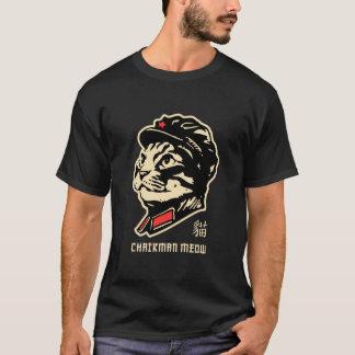 Meow do presidente! Esboçado Camiseta