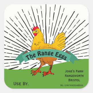 Mercado ar livre dos fazendeiros da etiqueta da