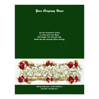 Mercado das promoções do Natal do modelo do Panfleto Personalizado