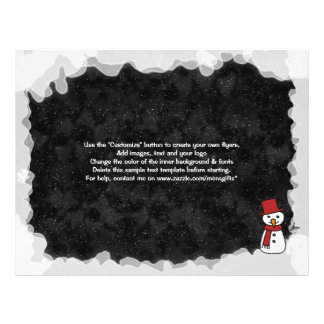 Mercado das promoções do Natal do modelo do Panfleto Coloridos