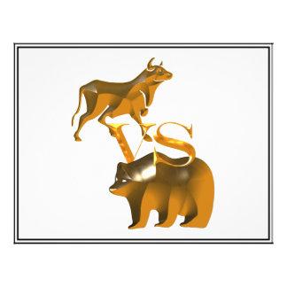 Mercado em alta contra o mercado de urso