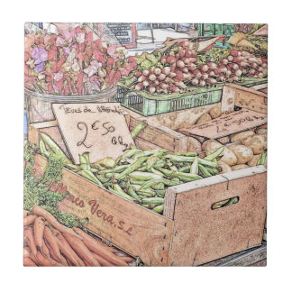 Mercado francês dos fazendeiros