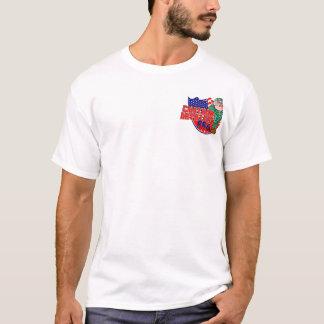 Mercadoria da equipe do CHURRASCO da artilharia de Camiseta