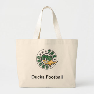 Mercadoria do futebol dos patos bolsas