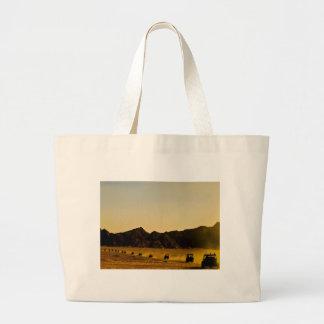 Mercadoria egípcia do deserto bolsa de lona